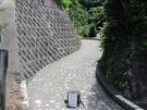 山辺の道 南陽寺付近登り口
