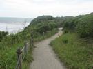 御前崎ケープパーク 海側の遊歩道