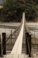 塩郷の吊橋 全景