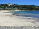 外浦海水浴場 南側より砂浜側