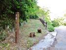 東海道宇津ノ谷越え 岡部側登り口