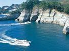 堂ヶ島マリン 遊覧船と堂ヶ島公園