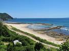 白浜中央海水浴場 北側