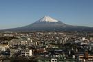 富士市役所からの富士山