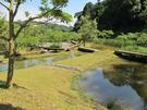 あらさわふる里公園 ビオトープ・農業体験エリア 棚池と木道