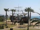 広野海岸公園 海賊船